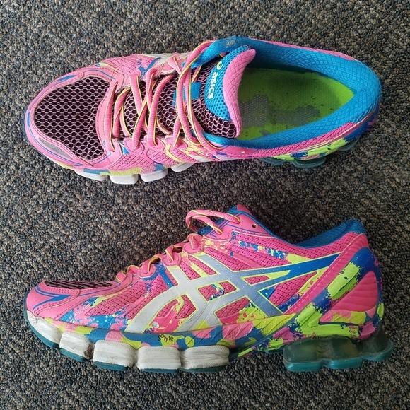 premium selection 1755b 11276 Asics Shoes - Asics Gel Sendai 2 T4A6N Running Shoes Pink Blue